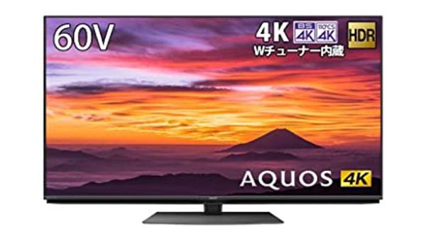 AQUOS60V4KWチューナー内蔵